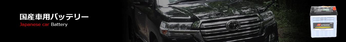 国産自動車・バス・トラック用バッテリー