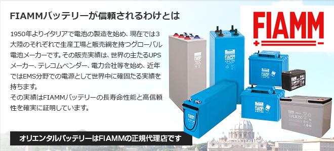FIAMMバッテリーが信頼されるわけとは